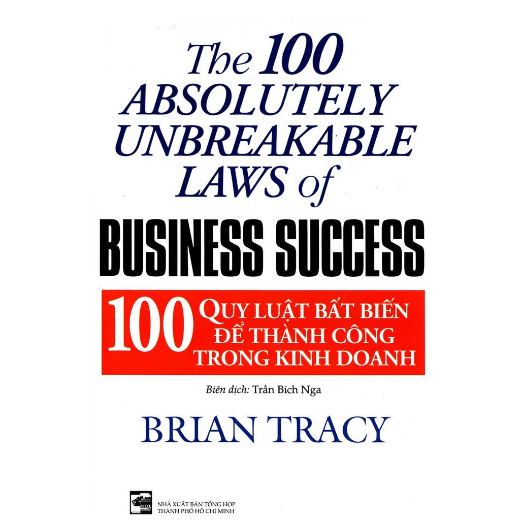 Download sách 100 Quy Luật Bất Biến Để Thành Công Trong Kinh Doanh PDF