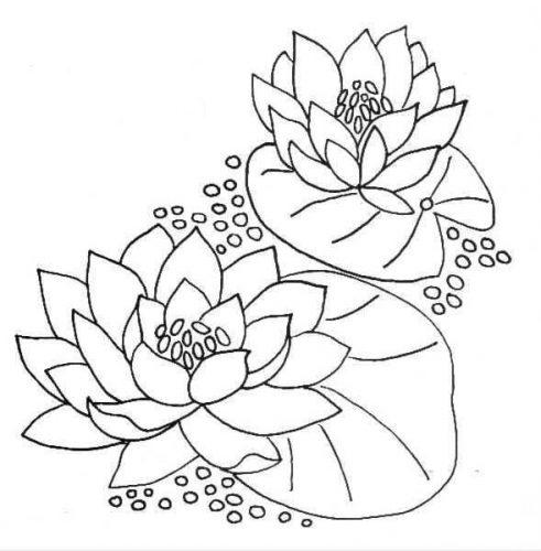 Tải tranh tô màu hình bông hoa đơn giản cho bé tập làm quen 12