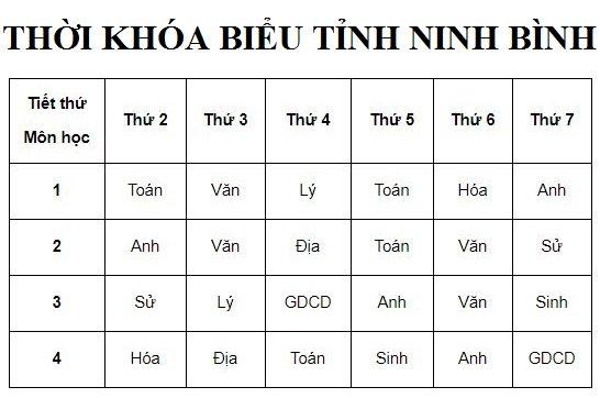 Tổng hợp lịch dạy học qua truyền hình các tỉnh thành mùa dịch Covid-19 15