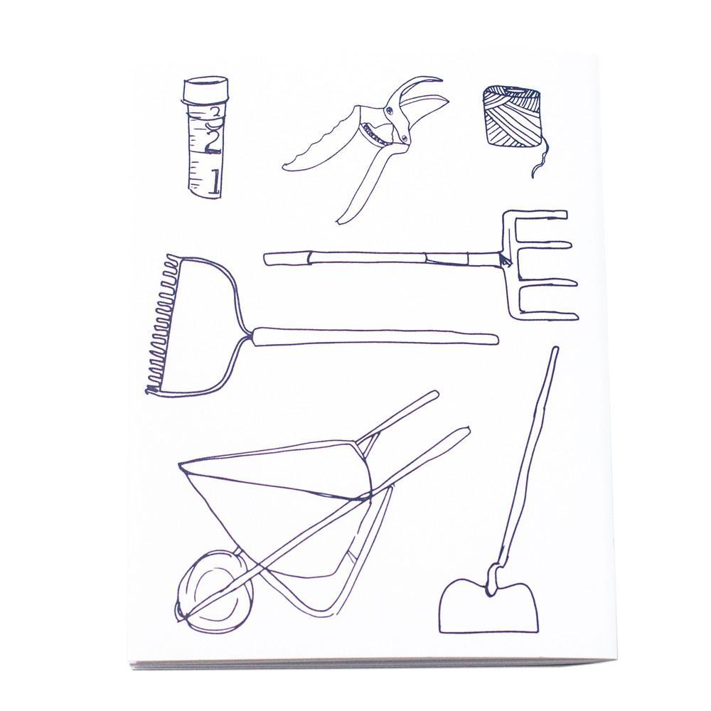 Tổng hợp các bức tranh tô màu dụng cụ nghề nông cho bé tập tô 33