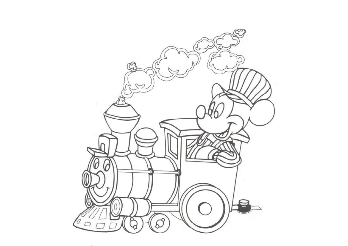 Tuyển tập bộ tranh tô màu chuột Mickey đáng yêu cho bé 45