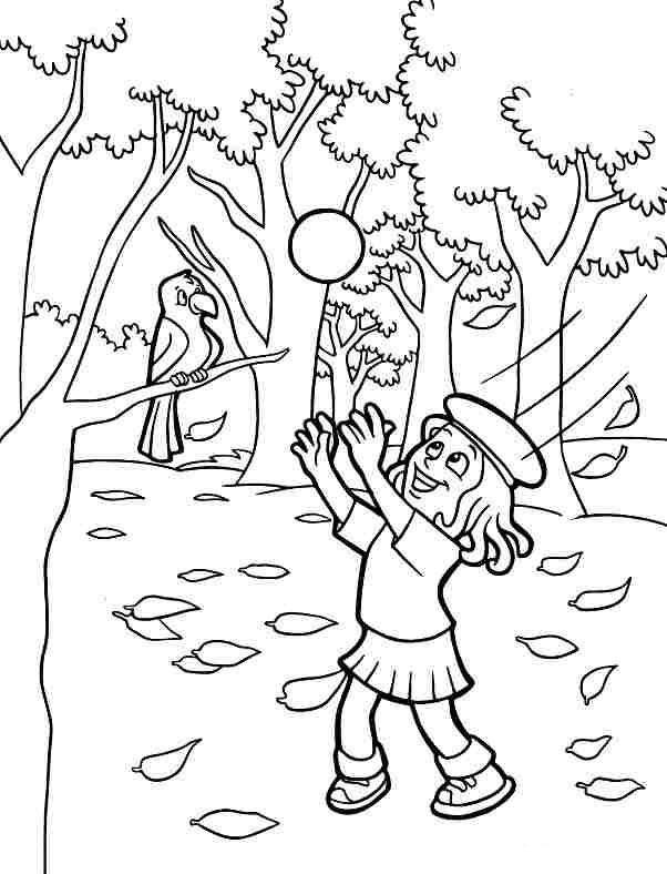 Tuyển tập tranh tô màu phong cảnh đơn giản cho bé tập tô 22