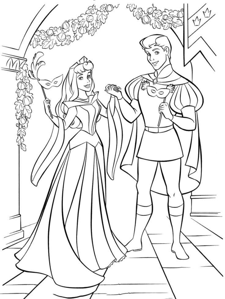 Tuyển tập tranh tô màu nàng Bạch Tuyết xinh đẹp trong truyện cổ tích 39