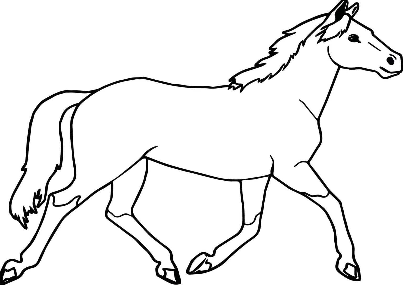 Bộ sưu tập tranh tô màu con ngựa dành tặng bé 53
