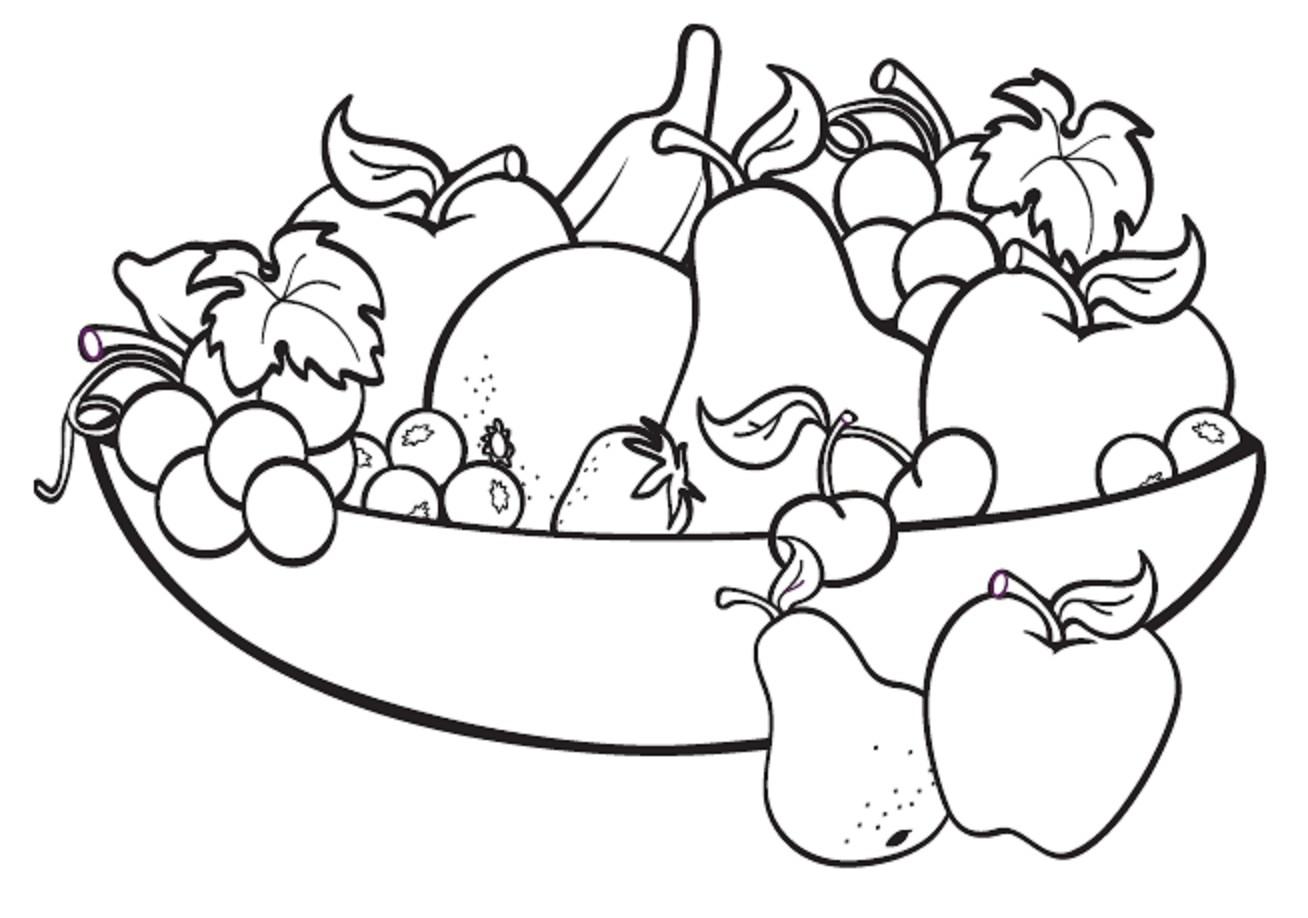 Tranh tô màu rau củ quả giúp bé nhận biết dễ dàng! 41