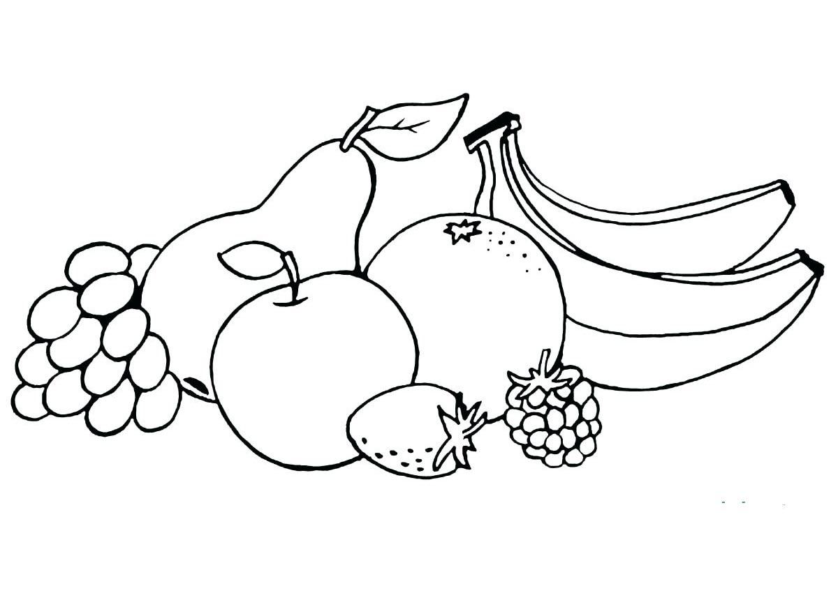 Tranh tô màu rau củ quả giúp bé nhận biết dễ dàng! 43