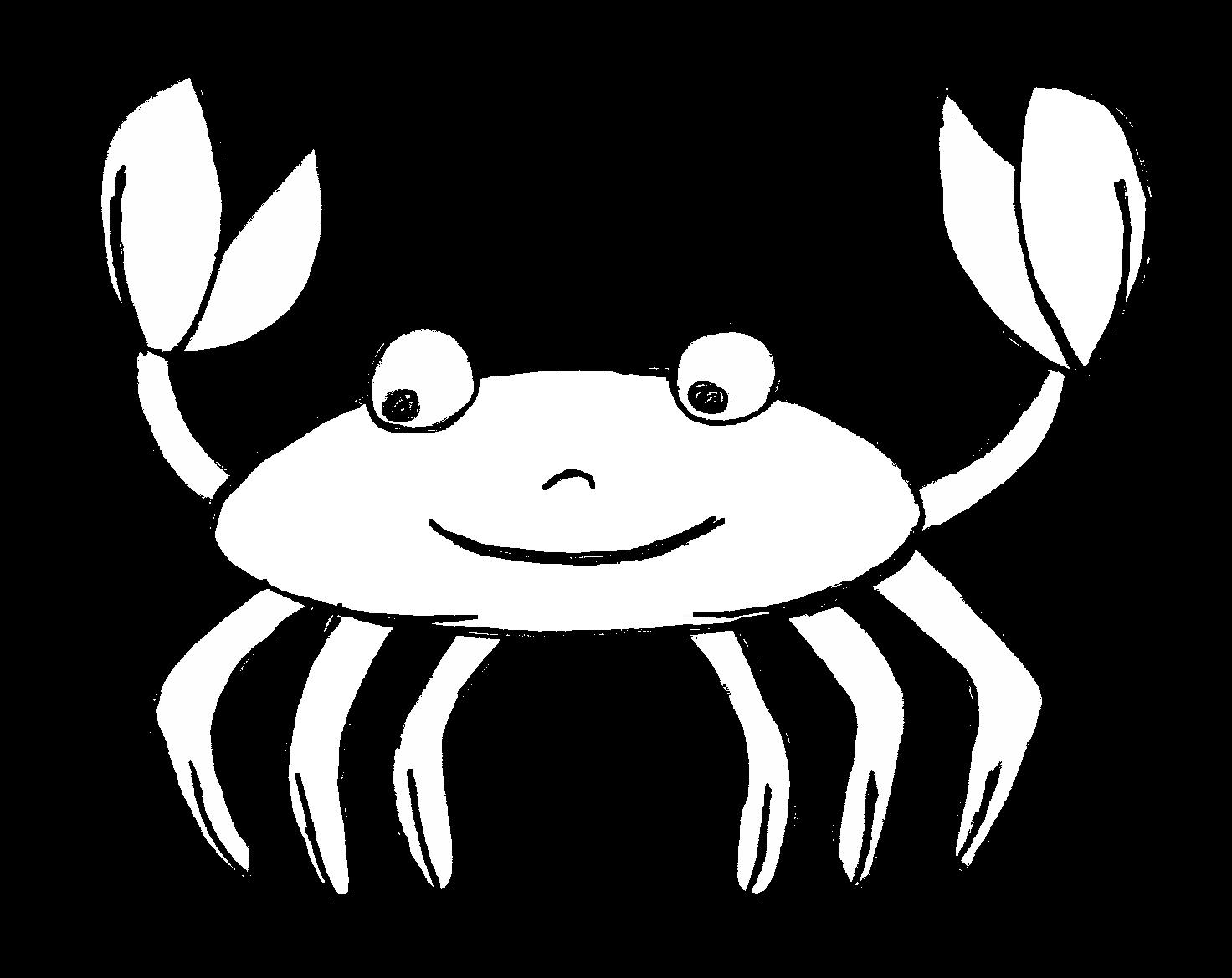 Bộ sưu tập tranh tô màu con cua cho bé khám phá thế giới đại dương 27