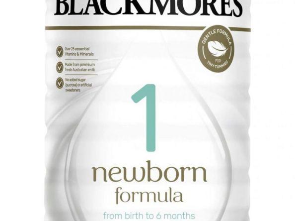Cập nhập sữa Blackmore mẫu mới của ÚC